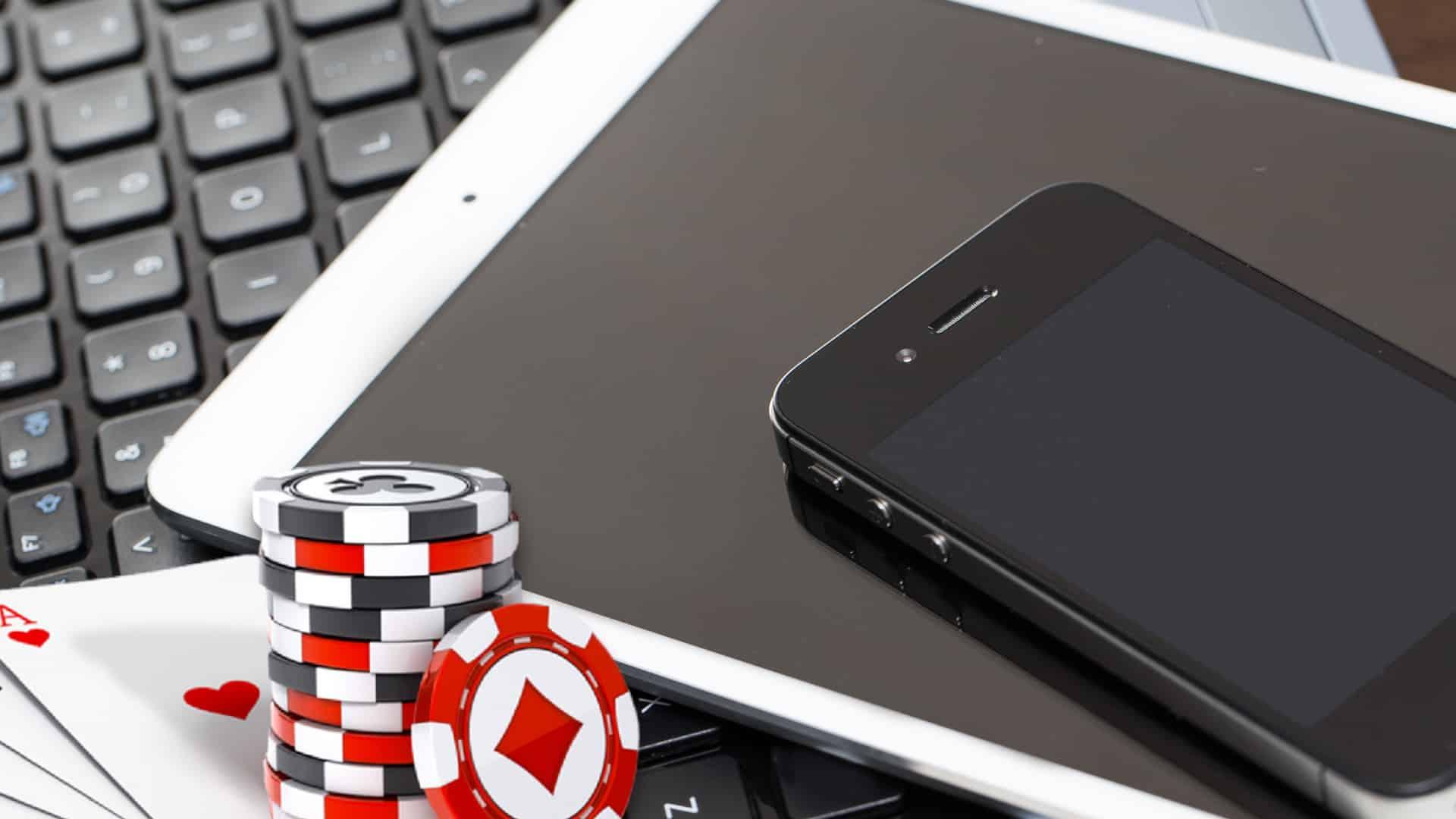 móvil, tablet, ordenador en casino online