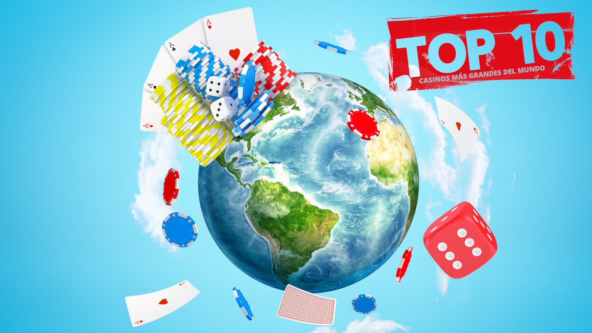 TOP 10 Casinos más grandes del mundo