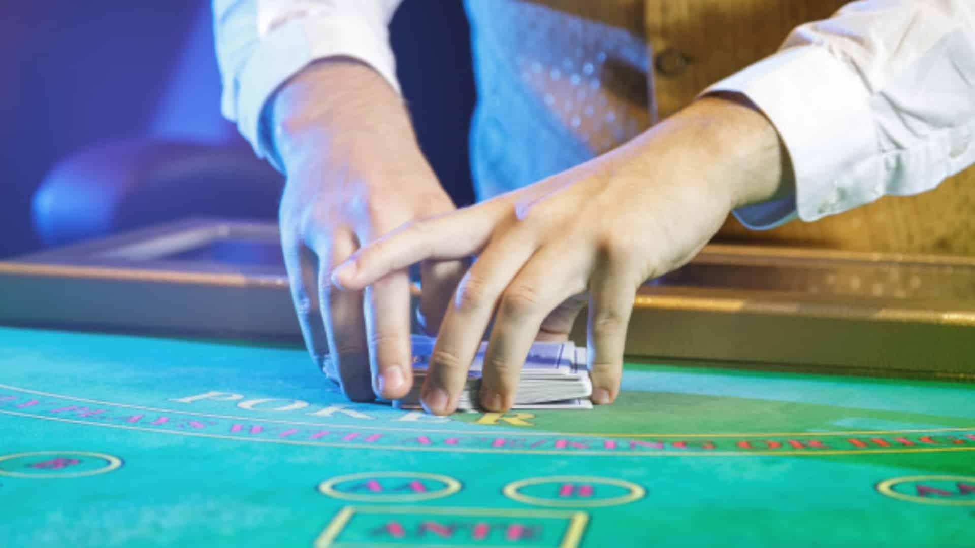 Las funciones del crupier en el casino