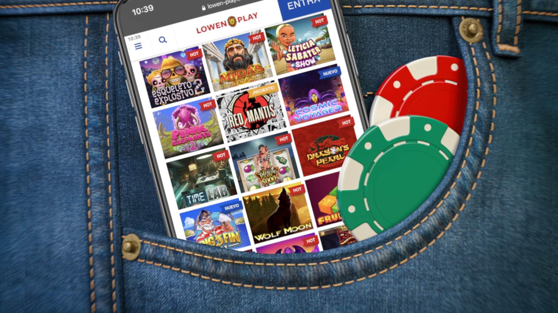 Las RTP más altas en las tragaperras online del casino