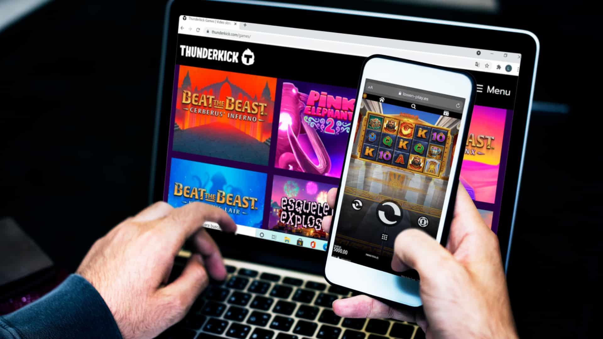 juegos Thunderkick en el casino online
